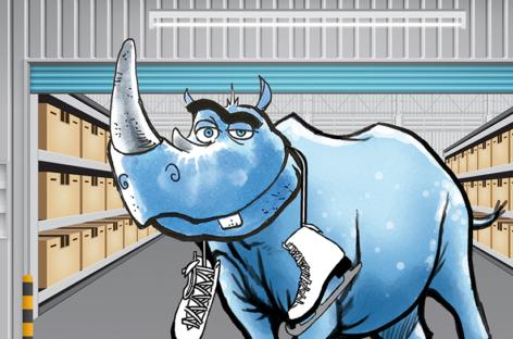 Ein Arbeitstier mit enorm dicker Haut – das Rhino II von Datalogic
