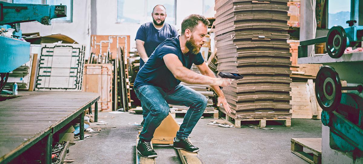 Zebra Warehouse – macht Lust auf Arbeit im Lager