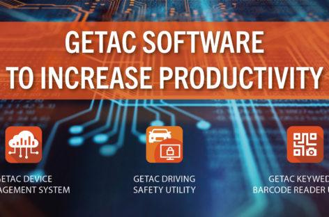 Getac Software steigert die Produktivität