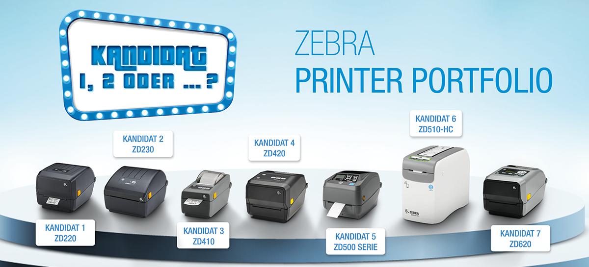 Zebra Printer Portfolio