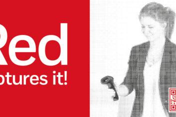 Red captures it!